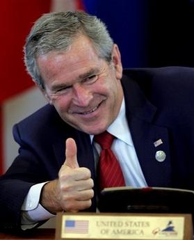 bush-thumbs-up