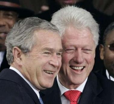 bush-clinton-dictators