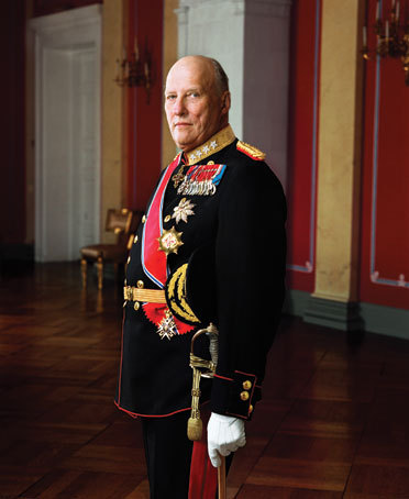 HM King Harald V of Norway. Photo: Kongehuset.no