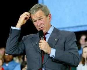 George W. Bush is a brainless mammal