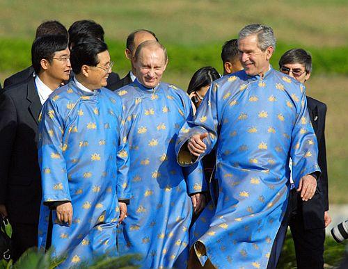 Putin, Bush, Hin Tao