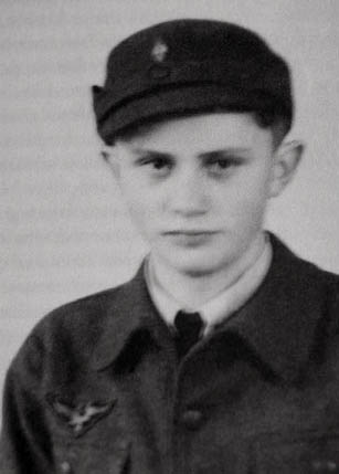 The Pope in his Hitler Youth uniform
