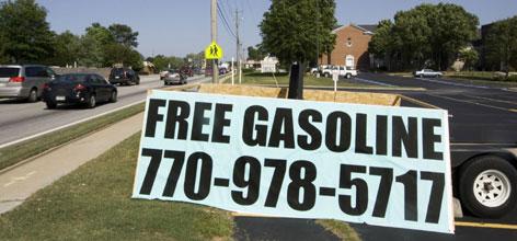 church-gas