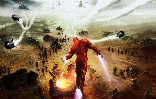 man-battle