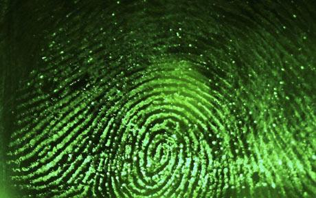 Soul entering body + fingerprints formed Fingerprint
