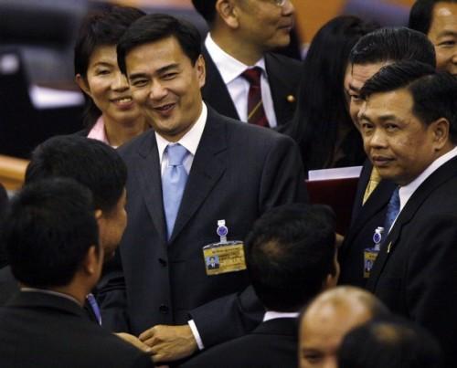 THAILAND-POLITICS/ABHISIT