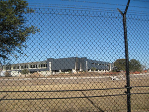 The NSA's Texas Cryptology Center, under construction at 410 and West Military.