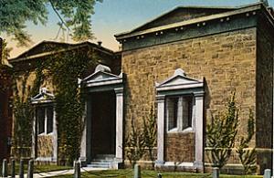 The Skull and Bones Society Building