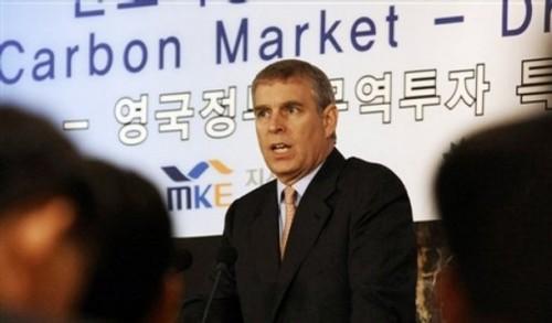 South Korea Britain Prince
