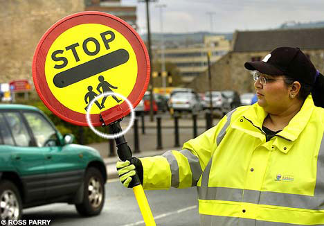 lollipop lady hidden camera