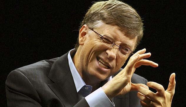 bill gates talking about windows vista Bill Gates admite que vacinas são usadas para depopulação humana