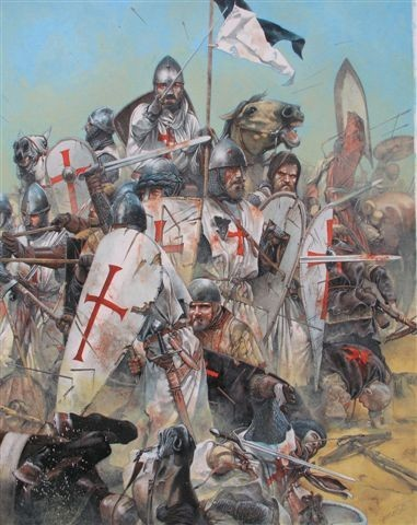 pictures of knights templar