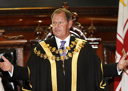 Lord Mayor Robert Doyle