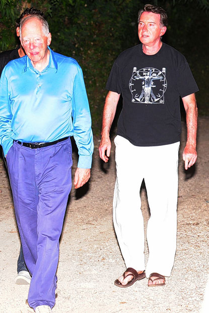 Mandelson Jacob Rothschild in Corfu