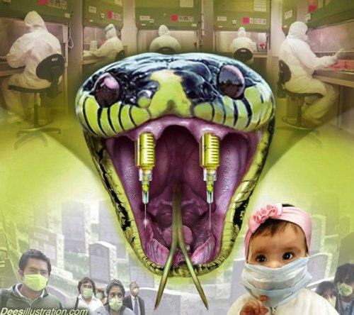 swine flu snake_dees