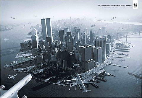 911 planes tsunami