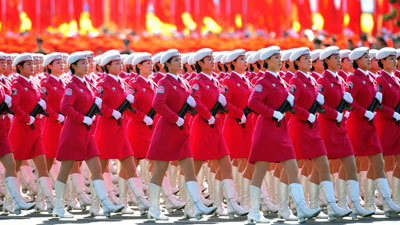 beijing women commie militia