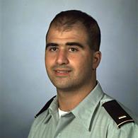 Nidal Malik Hasan as a 2nd Lt. in 2000