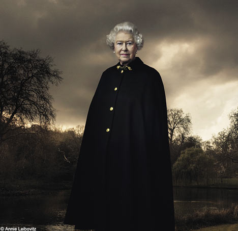 queen elizabeth dark shadows