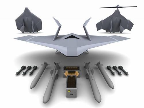 UK UAV ray gun