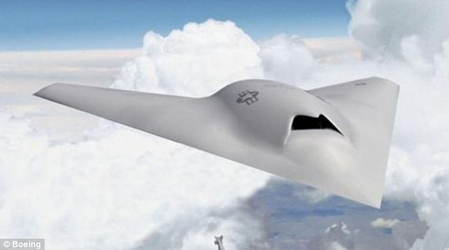 Boeing Jet Fighter Boeing Says Jet-sized Drone on