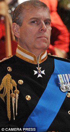 Shady contacts: Prince Andrew