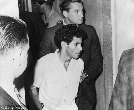 Set up: Sirhan Sirhan claims he was manipulated by a seductive girl in a mind control plot and that it was not his bullets that killed RFK
