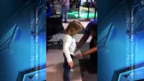 TSA child pat-down molestation