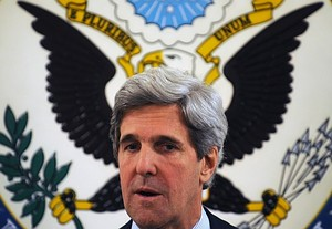 US Senator John Kerry: Secretary of State in the  wings?  (Image credit: AFP/Getty Images via @daylife)