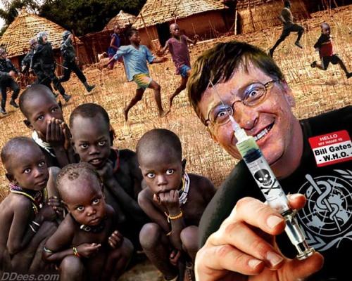bill gates malaria vaccines